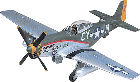 model planes,plastic airplane model,P-51D Mustang -- Plastic Model Airplane Kit -- 1/48 Scale -- #855241