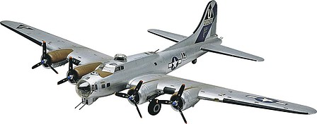 plastic airplane model,model airplane,B-17G Flying Fortress -- Plastic Model Airplane Kit -- 1/48 Scale -- #855600