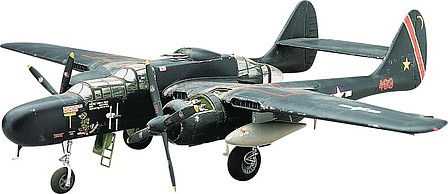 model planes,plastic airplane model,P-61 Black Widow -- Plastic Model Airplane Kit -- 1/48 Scale -- #857546