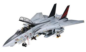 Grumman F-14A Tomcat Black Knight Jet Aircraft -- Plastic Model Airplane Kit -- 1/48 Scale -- #37006