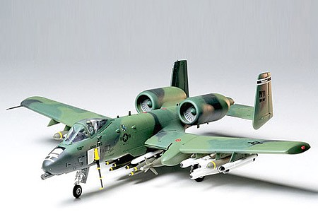 model planes,plastic airplane model,A-10 Thunderbolt II -- Plastic Model Airplane Kit -- 1/48 Scale -- #61028
