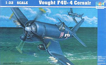 model planes,model airplane,Vought F4UF Corsair -- Plastic Model Airplane -- 1/32 Scale -- #02222