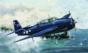 model planes,plastic airplane model,TBM3 Avenger Aircraft -- Plastic Model Airplane -- 1/32 Scale -- #02234